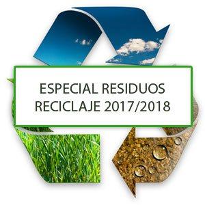 Especial residuos y reciclaje 2017/2018